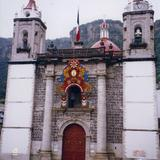 Portada del Santuario del Señor de Chalma, Edo. de México