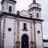 Portada de la parroquia de Tenancingo, Edo. de México