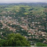 Vista aérea de Olinalá, Guerrero