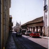 Calle del centro de Comitán, Chiapas