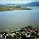 Embarcadero en el lago de Pátzcuaro. Janitzio, Michoacán