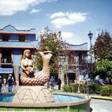 Fuente y plaza central de Metepec, Edo. de México