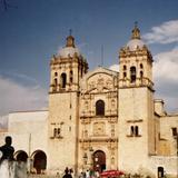 Templo y ex-convento de Santo Domingo de Guzmán del siglo XVI. Oaxaca de Juárez, Oaxaca
