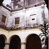 Claustro del ex-convento dominico del siglo XVI. Ozumba de Alzate, Edo. de México