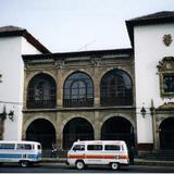 Biblioteca pública Gertrudis Bocanegra, siglo XVI. Pátzcuaro, Michoacán