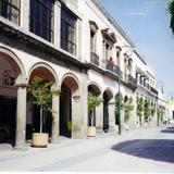 Portales del centro de la ciudad de Salamanca, Guanajuato