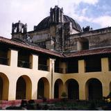 Patio del claustro del Ex-convento de Santo Domingo, siglo XVI. San Cristobal de las Casas, Chiapas