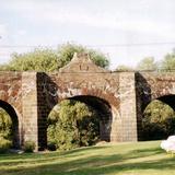 Puente colonial sobre el Río San Juán. San Juán del Río, Querétaro