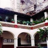 Claustro del ex-convento de San Bernardino, siglo XVI. Taxco, Guerrero
