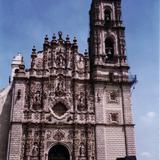De estilo churrigueresco el templo de San Francisco Javier, siglo XVII. Tepotzotlán, Edo. de México