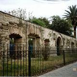 Ruinas del antigüo Hospital de la Encarnación, siglo XIX. Tlaxcala, Tlaxcala