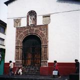 Templo de la Inmaculada Concepción con portada de cantera, siglo XIX. Uruapan, Michoacán