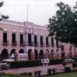 Zócalo y palacio municipal de la ciudad de Valladolid, Yucatán