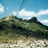 El teleférico y el cerro de la Bufa. Zacatecas, Zacatecas