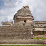 El Observatorio. Ruinas de la ciudad maya de Chichén Itzá