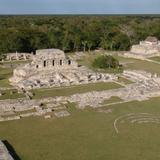 Panorámica de la Zona Arqueológica de Mayapán