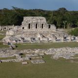Ruinas de Mayapán (Estandarte de los Mayas)