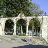 Arcos de acceso al atrio conventual. Huejotzingo, Puebla