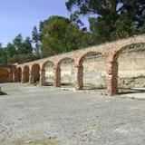 Ruinas de las caballerizas. Ex-hacienda de Chautla. Siglo XIX. Edo. de Puebla