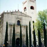 Fachada de piedra labrada de estilo plateresco. Ex-convento de Actopan, Hgo. 2002