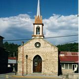Misión jesuita de estilo neogótico. Creel, Chihuahua. 2002