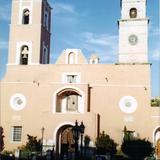 Parroquia del pueblo minero de Real del Monte, Hidalgo. 2003