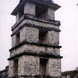 La torre del palacio. Palenque, Chiapas. 2002
