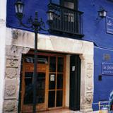 Fachada colonial con marco de cantera (Hoy restaurante La Paloma). San Cristobal. 2003