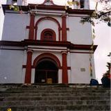 Templo de San Cristobal. San Cristobal de las Casas. 2002