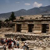 Zona arqueológica de San Pablo Villa de Mitla. 1996