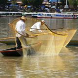 La pesca del charal en Janitzio