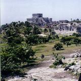 La zona arqueológica de Tulum, Quintana Roo. 2001