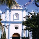 Templo de Santa María de la Candelaria (Siglo XVII). Tuxtla Chico. 2000