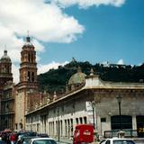 La Catedral (1729) y el cerro de la Bufa. Zacatecas. Junio/2002