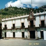 El Palacio de Gobierno de estilo barroco (Siglo XVIII). Zacatecas. 2002