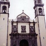 Parroquia de San Pedro (Siglo XVII) de estilo barroco. Zacatlán. 2002