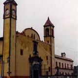 Ex-convento de San Francisco (la Basílica mas antigüa de México). Zacatlán. 2002