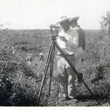 Trazando Nueva carretera en 1953