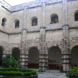 Vista del Claustro del Ex-convento Agustino. Agosto/2011