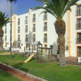 Area infantil y arquitectura del Hotel Misión Juriquilla. Octubre/2011