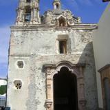 Capilla en la Ex-hacienda del siglo XVIII. Juriquilla, Qro.