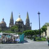Vista posterior de la Catedral y Plaza de La Liberación. Nov/2011