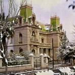 La Quinta Gameros en un día nevado