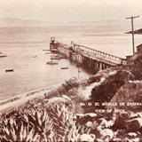 Vista del muelle de Ensenada