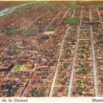 Vista aérea de Monterrey