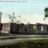 Ruinas de la antigua aduana de adobe