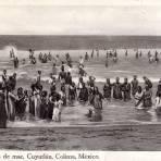 Baños de Mar, en Cuyutlán