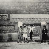 Ruinas de Mitla: Entrada al Salón de los Mosaicos
