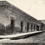 Una calle de Matamoros