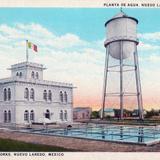 Planta de agua en Nuevo Laredo